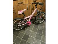 "Girls 20"" wheel 6 speed bike"