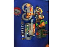 Thomas the tank engine take and play sets