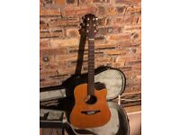 Takemine G Series Electro-Acoustic Guitar and Hard Case