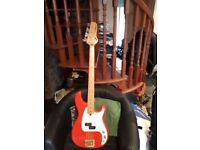 Custom ibanez bass guitar