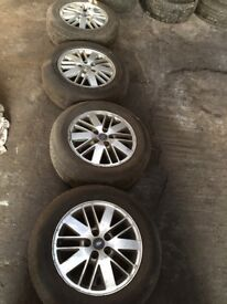 Ford alloy wheels 16""