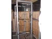 Gymano cage high and low lat pull down