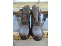 Brasher leather boots