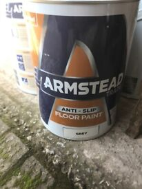 Armstead anti slip floor paint
