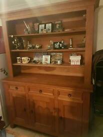 Solid French oak dresser