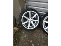 audi rs5 rs6 rs4 vw t5 judd 20x10.5 alloy wheels