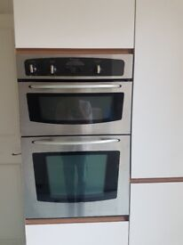 Kitchen including all appliences: Dishwasher oven washing machine hob sink fridge freezer cupborts