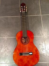 Valencia 1/4 size classical guitar