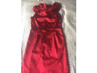Red Coast dress Size 14