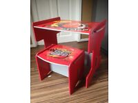 Lightning McQueen table and chair set