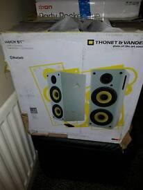 Thonet and vander speakers