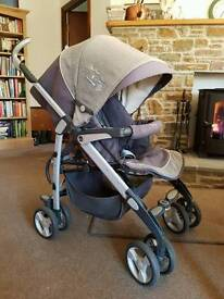 SILVERCROSS on the move pushchair