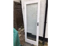 2 frosted glazing internal doors