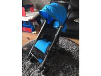 Recaro easylife stroller as new used once