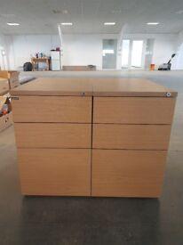 Office Pedestals x 2
