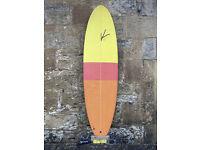 CAN SEND, K Surfboard 6'6 fish, thruster, twin fin, SET, 42L, Fun Board, leash, fins, bag
