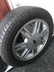 Ford fiesta wheel rim and tyre for sale collection only