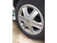 Renault alloys and tyres
