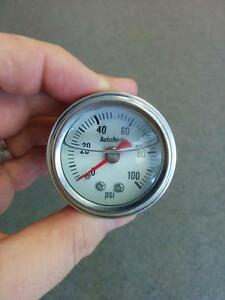 cafe racer oil pressure gauge
