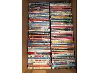 Huge kids and family dvd lot