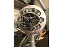Blue Snowball iCE USB Microphone - white