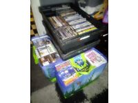 DVDs for boot fair. Job lot of 275.