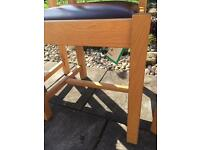 4 leather seat kitchen chairs