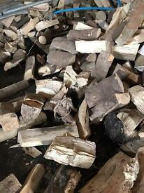 Hardwood fire blocks