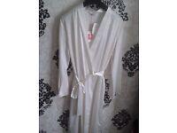 New Womens silk dressing gown