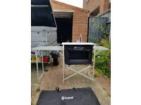 Outwell camping kitchen cupboard