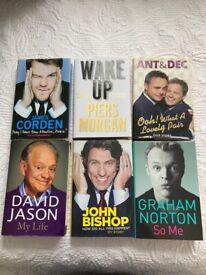 Celebrity autobiographies book autobiography