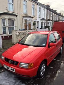 Volkswagen Polo 1.0 1999 - Full Years MOT and Low Mileage