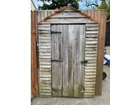 4x6 garden shed needs repair