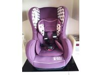 Purple Baby weavers Car seat from birth 0kg -18kg