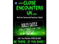 GHOST HUNT @ DUDLEY CASTLE .... Only £45 !!