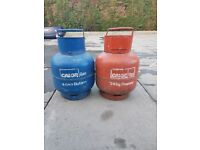 Gas bottles ( Butane +Propane)