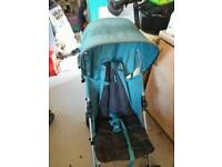 Mamas and papas stroller with raincover
