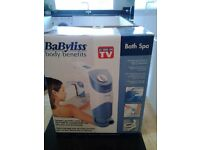 BaByliss Body Benefits Bath Spa - still in original packaging, unwanted gift, unused