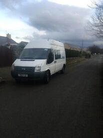 Ford transit, van,welfare not tipper, just had a warranted Recon engine