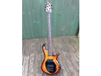 Traben 5 String Bass Guitar Neo Limited Orange and Black