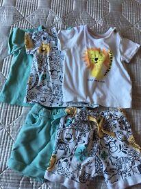Baby Boy 3-6 months summer clothing bundle
