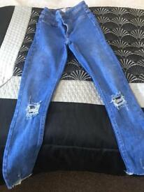 Girls river island jeans