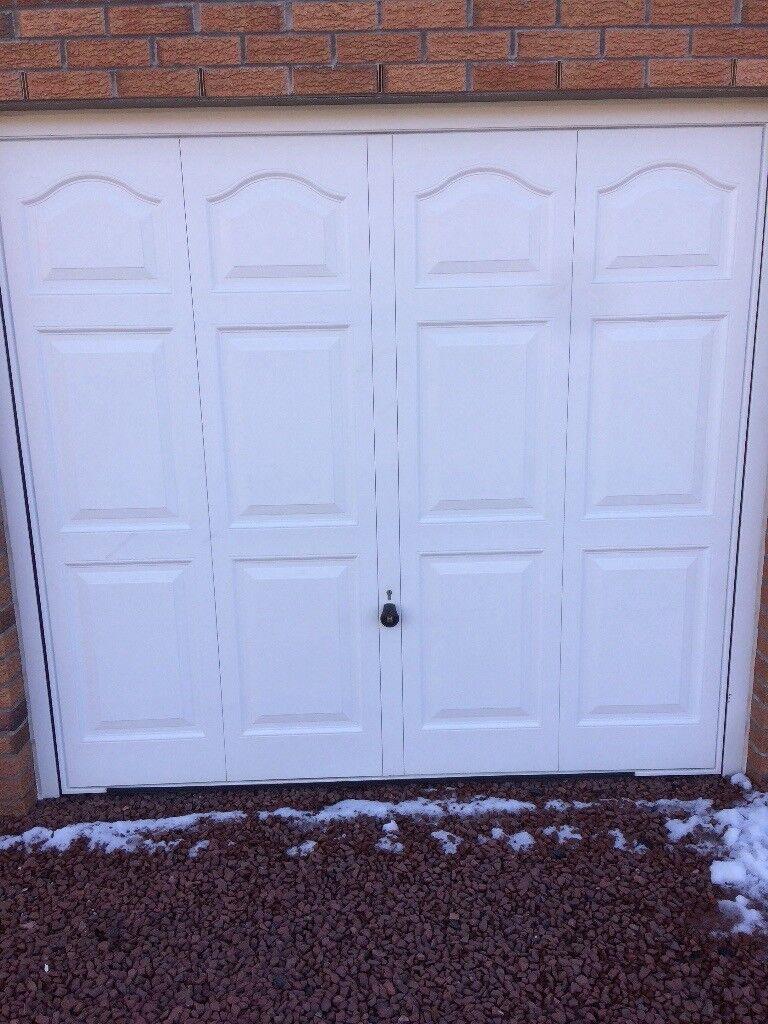 Up And Over Garage Door With Keys To Lock In East Kilbride