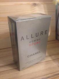 Allure Homme Sport Chanel Perfume 100ml Designer