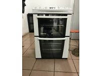 Zanussi electric cooker 60cm ceramic double oven 3 months warranty free local delivery!!!!!