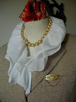RARE Vintage GUCCI Lucite Lapel Scarf Statement PIN Jewelry Accessory w/ Box GG