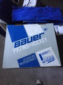 Bauer formula 20 ice hockey boots and hockey stick