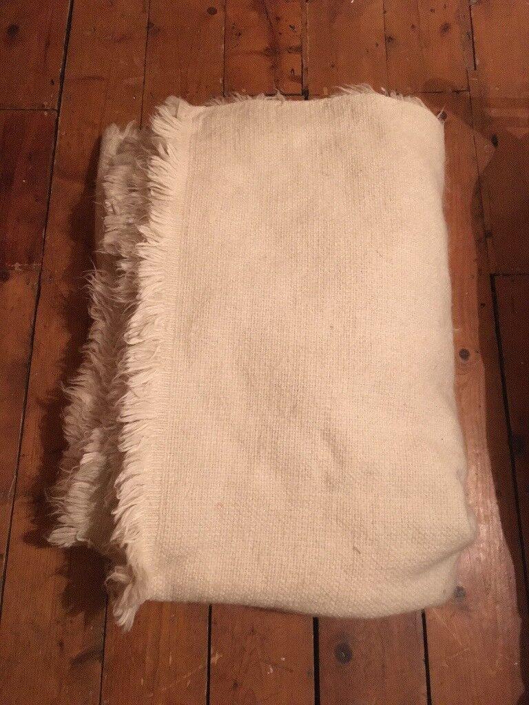 John Lewis Flokati Rug 100 Wool Large Underlay In St Agnes Bristol Gumtree