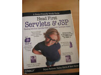 """University text book computer """"Head First Servlets & JSP"""""""