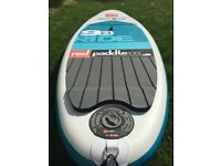 """RED Inflatable 9'8""""; Stand up paddle board (SUP)"""